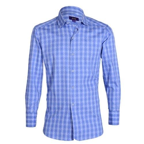 /J/a/Jacquard-Long-Sleeve-Checkered-Shirt---Blue-7709158.jpg