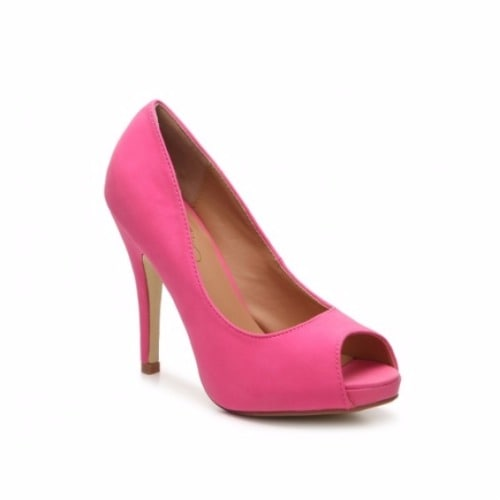5f5b2685191 Journee Collection Lois Peep-Toe Pumps In Wide Width - Pink