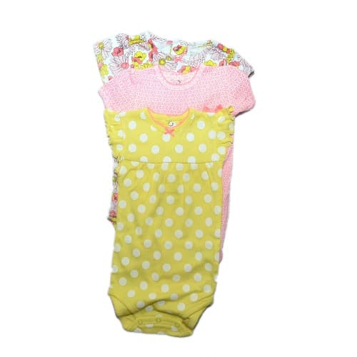 910cbca1f Carter s Just One You Made Baby Girls  Bodysuit - Pack of 3