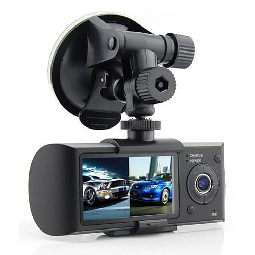 Night Vision Full HD Front & Rear Dual Camera Dash Cam Recorder With GPS,G-Sensor