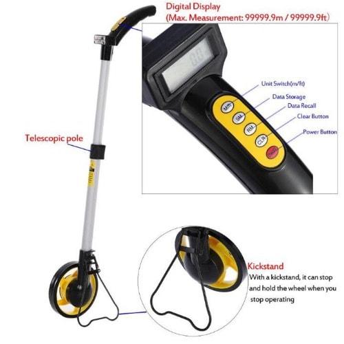 Digital Display Distance Measuring Wheel – WS-230