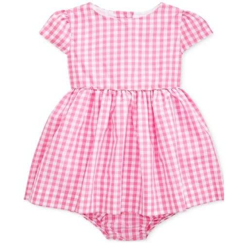 7dfb6779 Baby Girls Checked Taffeta Dress & Bloomer