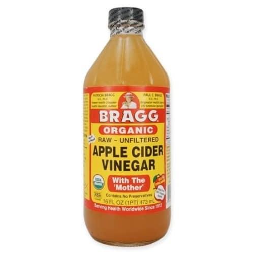 Bragg Organic Apple Cider Vinegar - Raw/unfiltered - With The Mother – 473ml/16fl Oz.