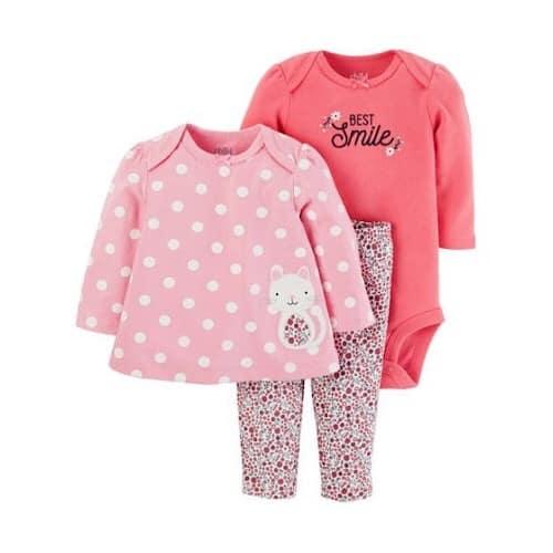 d5aab47b0602 Carter's Child Of Mine Newborn Baby Girl 3 Piece Set   Konga Online ...