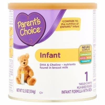 Infant Formula With Iron -12.5 Oz -354g