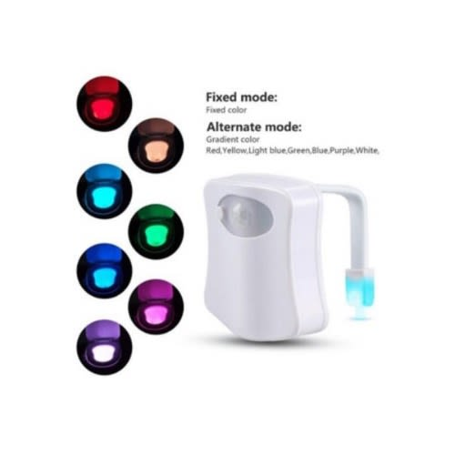 Toilet Automatic Turn On Body Detection Night Light
