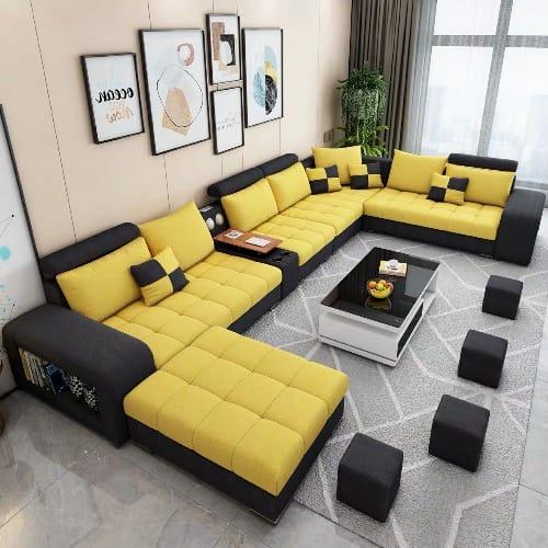 Mak Odin 10 Seater Living Room, Furniture Sets For Living Room