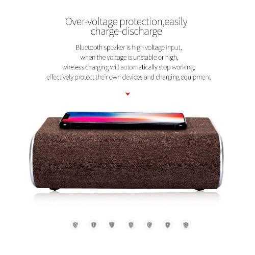 Smart Wireless Bluetooth Speaker - Brown