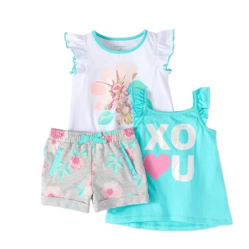 e8ffb401c Healthtex Girl Flutter Sleeve T-shirt, Tank Top & Shorts | Konga ...