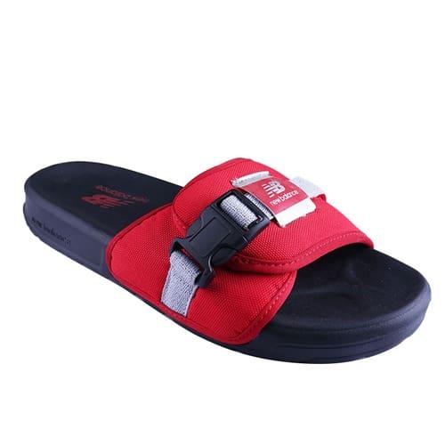 New Balance Slide Sd2152 Bk- Red/Black