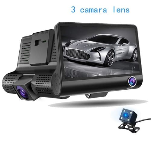 d0f4e0fc3c1 Car DVR 3 Lens G-sensor HD 1080p Car Dash Cam With Rear View Camera ...