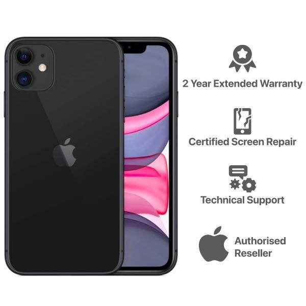 iPhone 11 -  4GB - 64GB - Black.