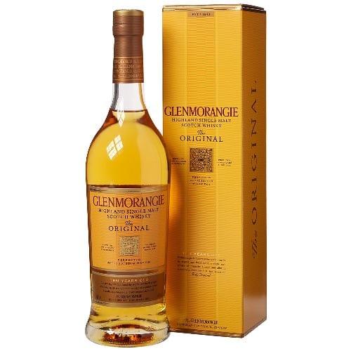 Glenmorangie Whisky 10yrs Single Malt 70cl 40% Acl. (single Bottle).