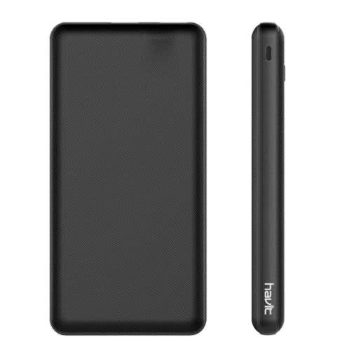 H576 10000mAh Power Bank With 2 USB Output And 1 Micro USB + 1 Type-C.