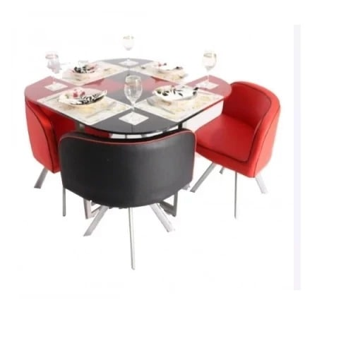 new concept 82d73 fe25e Round Compact Dining Table