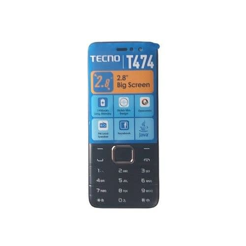 T474 - 2.8 Inch, Radio, Opera Mini, Battery 1900mAh - Black.