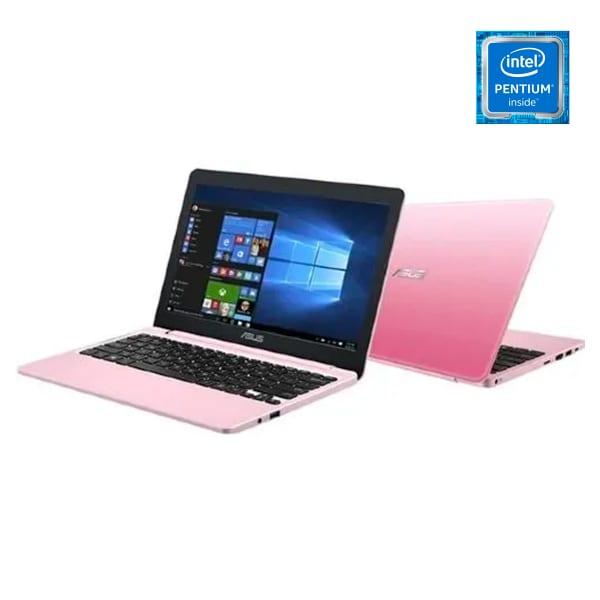 """E210MA-GJ122T 11.6"""" , Intel Pentium, 4GB RAM 128GB SSD Win 10 - Rose Pink."""