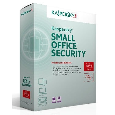 Small Office Security, 5 PCs + 1 Server, 1 Year License + Security For 5 Mobile Devices