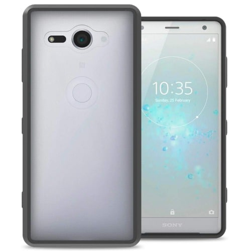 pretty nice 50126 d9bcb Transparent Back Cover Case For Sony Xperia Xz2 Compact