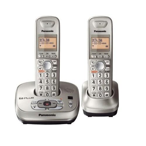 ae8860c8da08 Panasonic KX-TG4021N DECT 6.0 PLUS Expandable Digital Cordless Phone ...