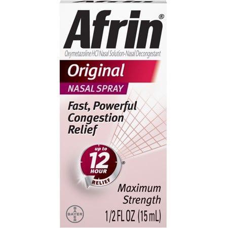 Original Cold And Allergy Congestion Relief Nasal Spray, 0.5 Fl Oz.