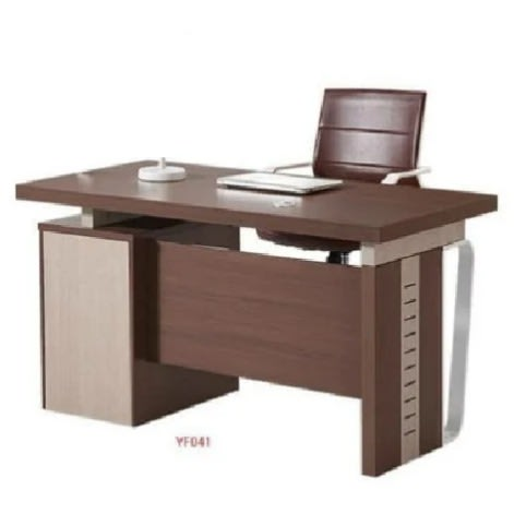 Executive Office Table 1.4mtrs With 3 Drawers Italian Design