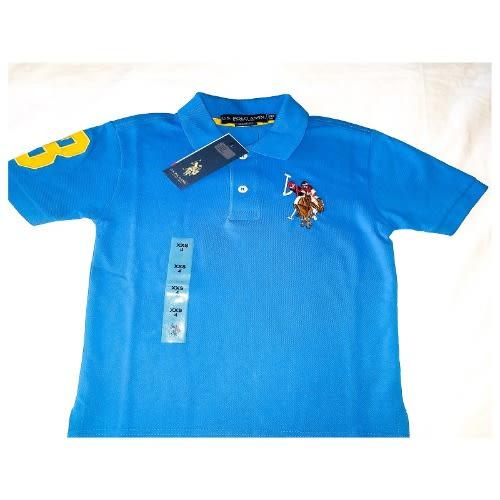 f5d0e916cee U.S. Polo Assn. Kids Short Sleeve Polo - Blue