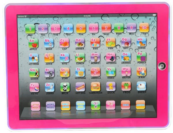 Kids Learning Tablet >> Y Pad Kid S Educational Learning Tablet Pink Konga Online Shopping