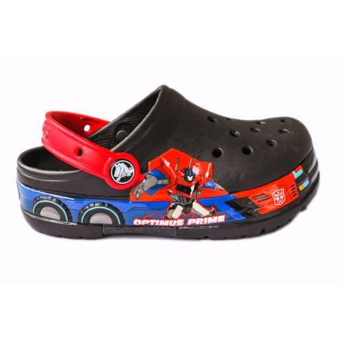 d25fe09cf8 Crocs Kids Transformers Optimus Prime Lighted Clog- Black
