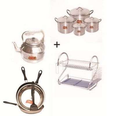 /K/i/Kitchen-Bundle--Pots-Frying-Pan-Kettle-and-Stainless-Dish-Rack-6978194.jpg
