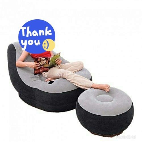 Strange Inflatable Sofa Foot Rest Machost Co Dining Chair Design Ideas Machostcouk