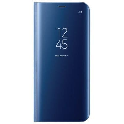 new arrival 55d0f ddbed LED Clear View Flip Case for Samsung Galaxy S8 Plus - Dark Blue