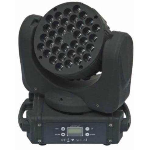 LED Moving Head Beam Light - 3W - 36Pieces