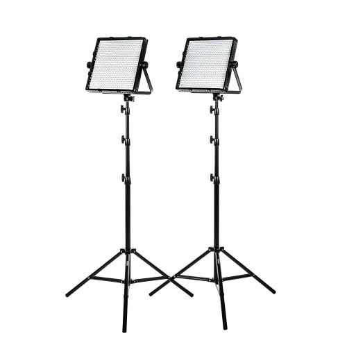 promo code 68254 90522 Studio Pro Daylight 600 LED Panel Bundle With Stands