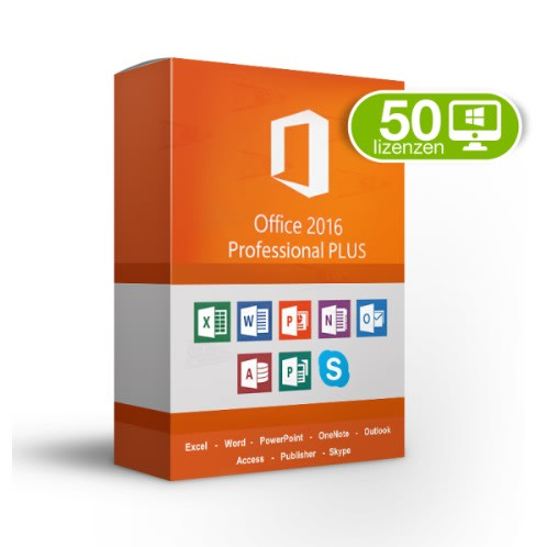 Office Professional Plus 2016 Volume License For 50 Pc