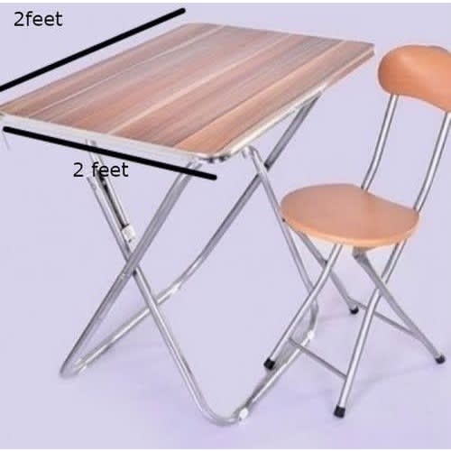 Foldable Table And Chair.