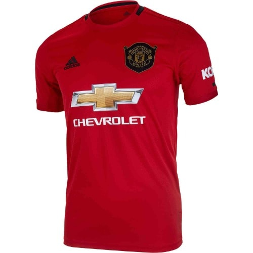 huge discount 2cb6b afd32 Manchester United 2019/2020 Home Jersey