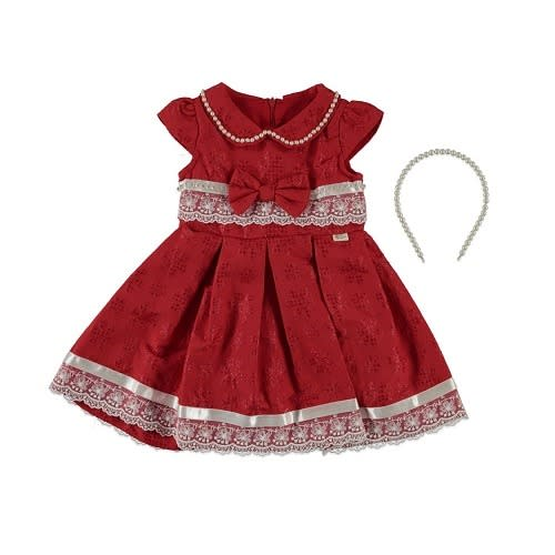 ac9372bd7af Girl s Dress With Hair Band