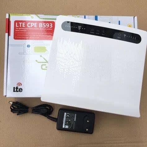 B593 4G LTE CPE Router WiFi.