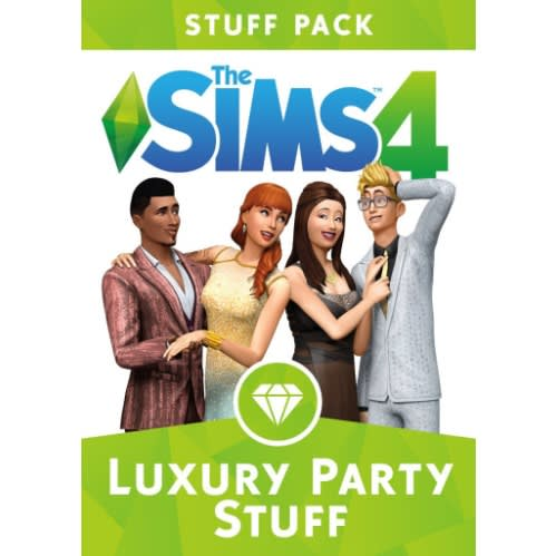 The Sims 4 Luxury Party Stuff Origin Key - Regional Free - Online Multiplayer