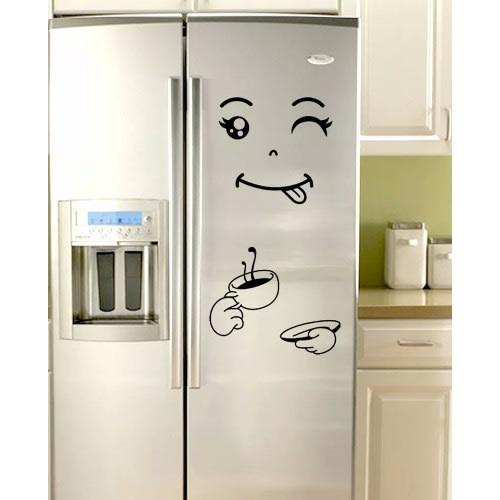 Kitchen Refrigerator Vinyl Stickers