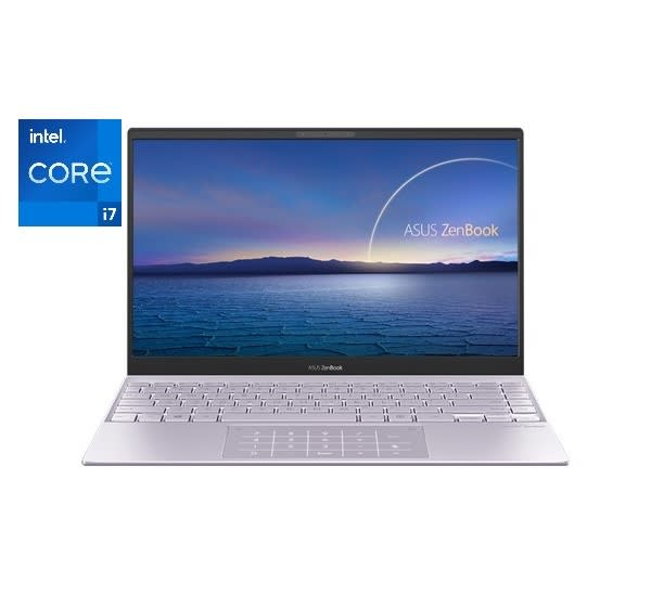 Zenbook 13 Ux325ea-kg351t Intel Core I7-1165g7 8gb Ram 512gb Ssd Win10- Lilac Mist.