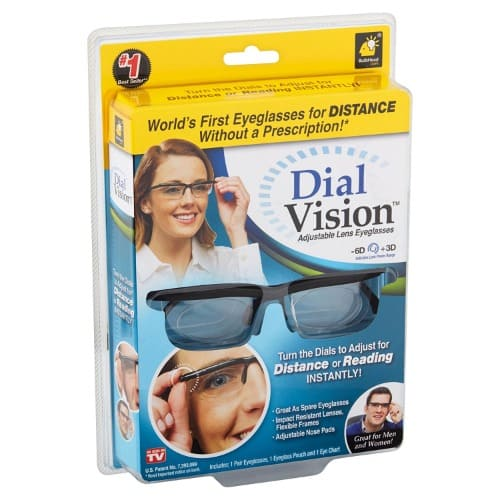 807c9428fb1 Dial Vision Adjustable Reading Eye Glasses