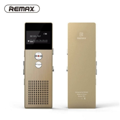 Voice Recorder With Digital Stereo Recording Noise Reduction Rp1 - 8g Gold