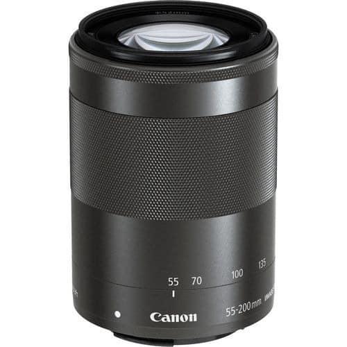 Ef-m 55-200mm Is Stm Lens - Black
