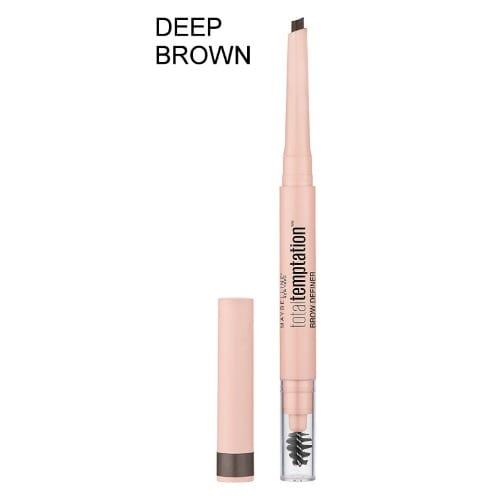 16a7464bbc2 Maybelline. Total Temptation Eyebrow Definer Pencil, Deep Brown ...