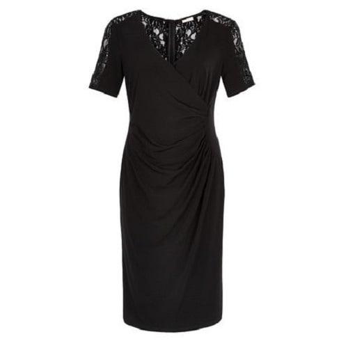 1294c12e032 Kaliko Spot Textured Lace Dress - Black | Konga Online Shopping