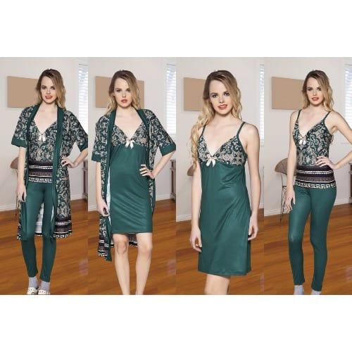 /L/a/Ladies-4-In-1-Sleepwear---Green-Multicolour-8012252.jpg