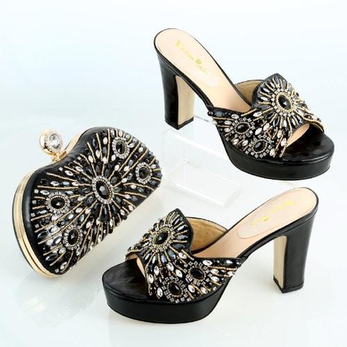/L/a/Ladies-Bedazzled-Heeled-Sandal-Bag-Set---Black-6932900_1.jpg
