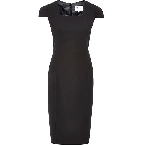 Austin Reed Ladies Classic Short Sleeve Dress Black Konga Online Shopping
